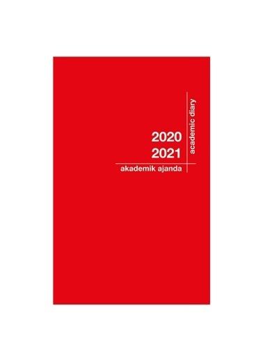 Akademi Çocuk 2020-2021 Akademik Ajanda 21x29cm Kırmız Kırmızı